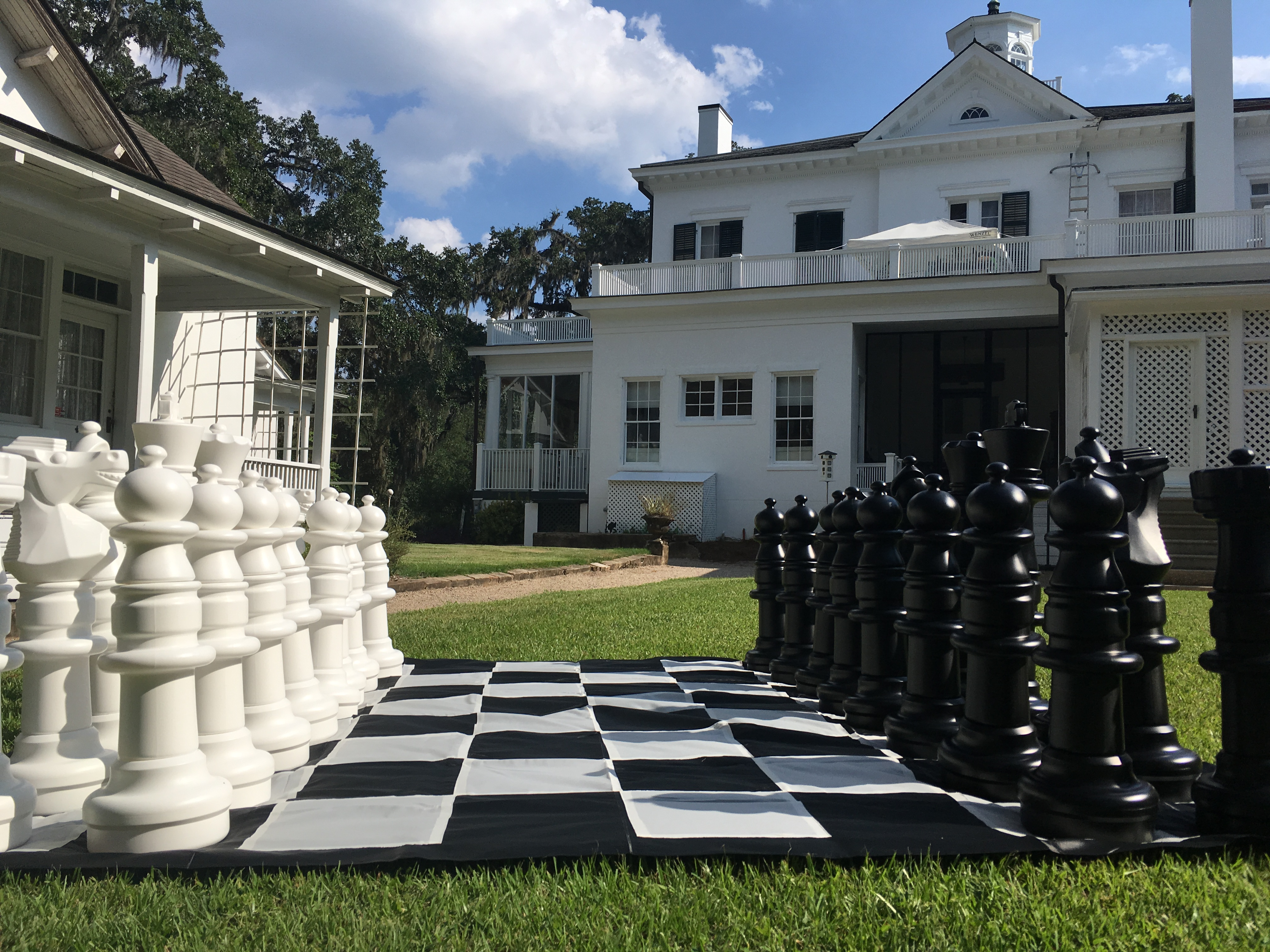 Goodwood Museum & Gardens Giant Chess and Checkers