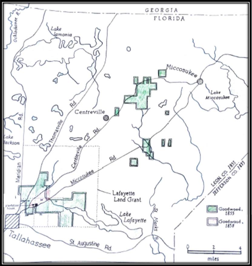 Goodwood Plantation Landholdings
